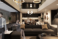 Bakti Residence Living Room