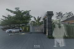 Bali Pavilion Gate