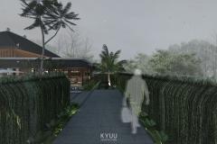 Bali Pavilion Corridor