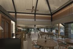 Bali Pavilion Interior