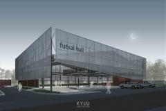 Futsal Hall Bogor Fasad