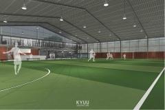 Futsal Hall Bogor Interior
