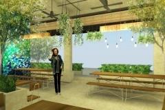 Interior Green Resto - Dining Room