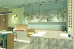 Interior-green-resto - Pantry