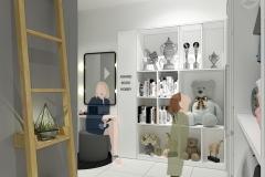 Interior Kamar Tidur Anak Perempuan