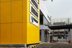 United Tractors Palembang - Facade