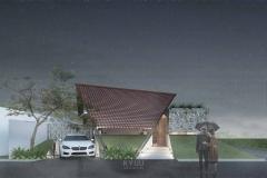 Rumah Belilas Fasad