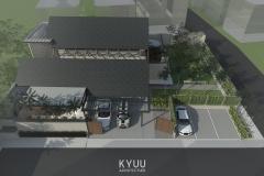 Vebby House Aerial View