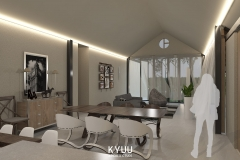 Vebby House Living Room