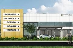 UT Palembang - Facade
